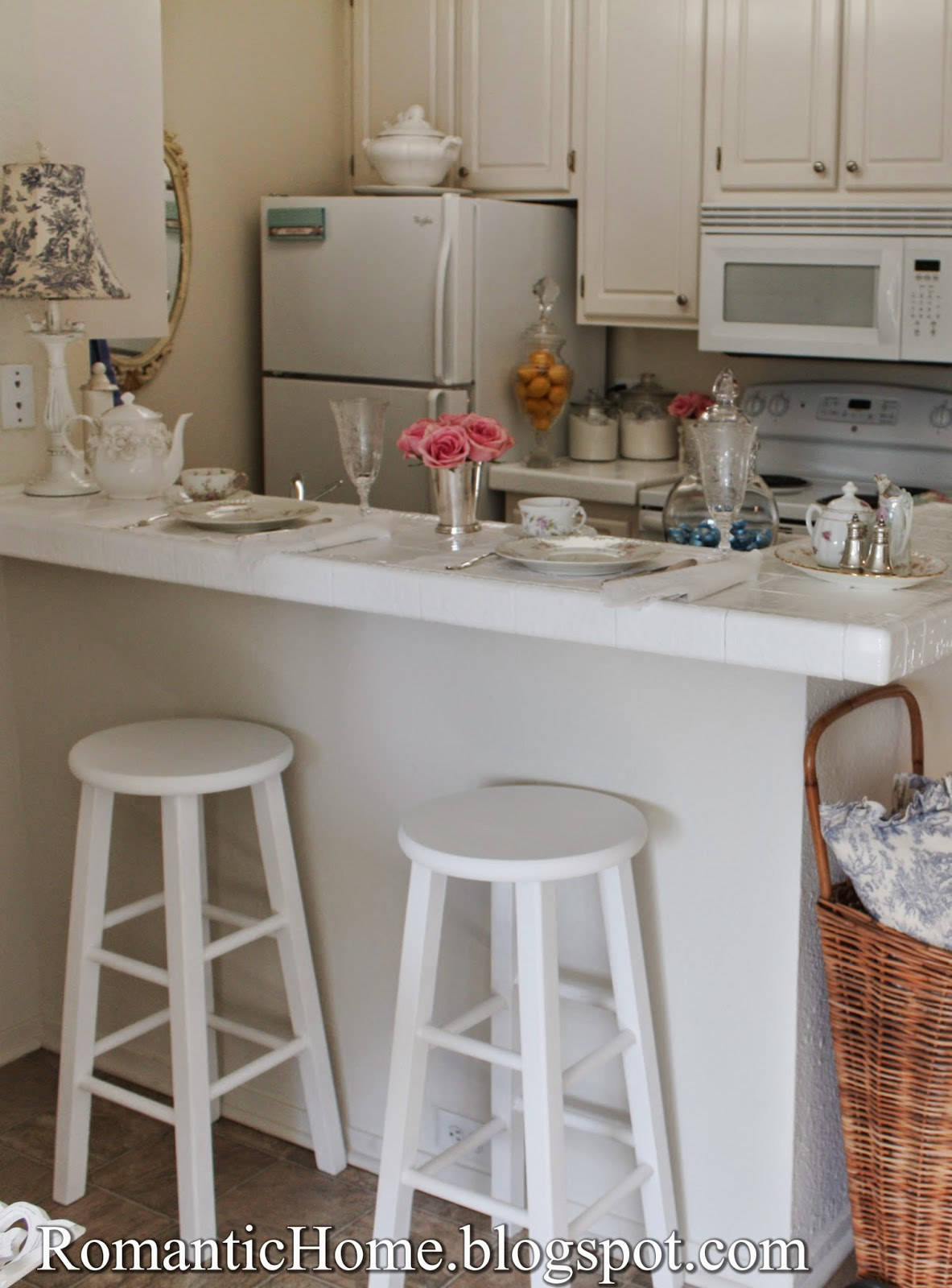 Kitchen Bar Stools Chalk Painted Show And Tell Friday