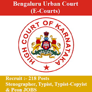 eCourts Bengaluru Admit Card Download