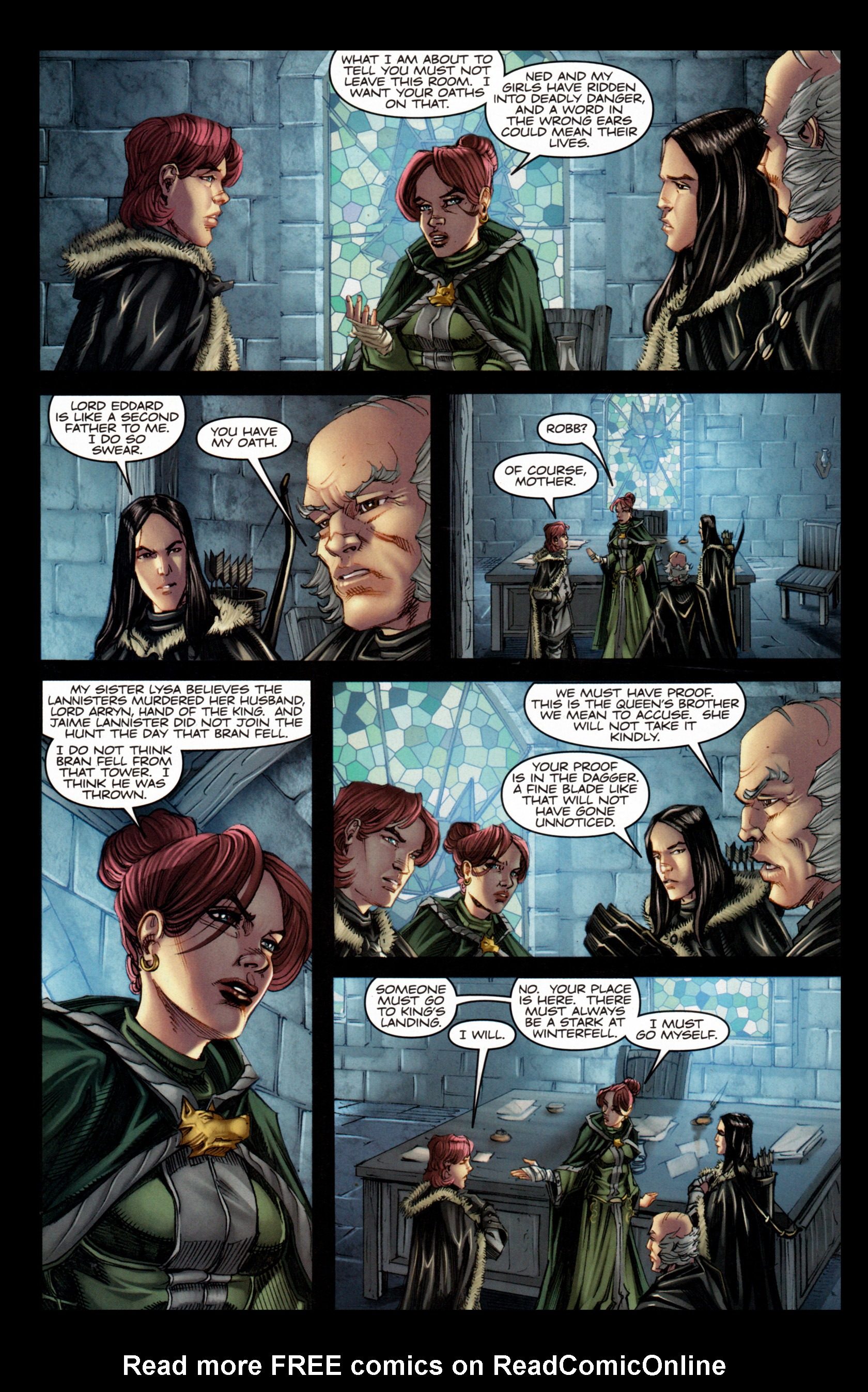 Read online A Game Of Thrones comic -  Issue #4 - 30