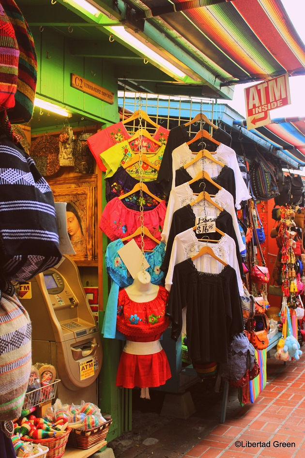 Olvera Street Los Angeles shopping