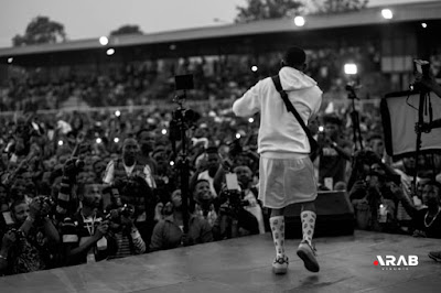 History Made As small Doctor Shuts Down Agege Stadium With Omo Better Concert (See Photos)