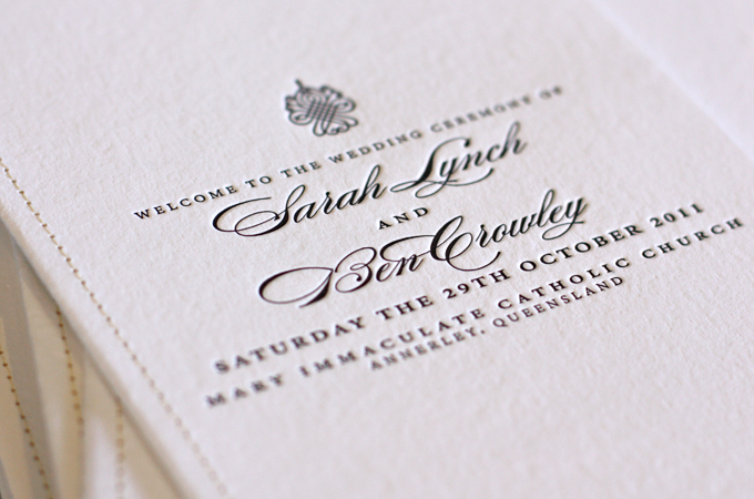 With Their Wedding Just Gone This Last Weekend We Wanted To Show You A Little Snapshot Of Order Service Covers