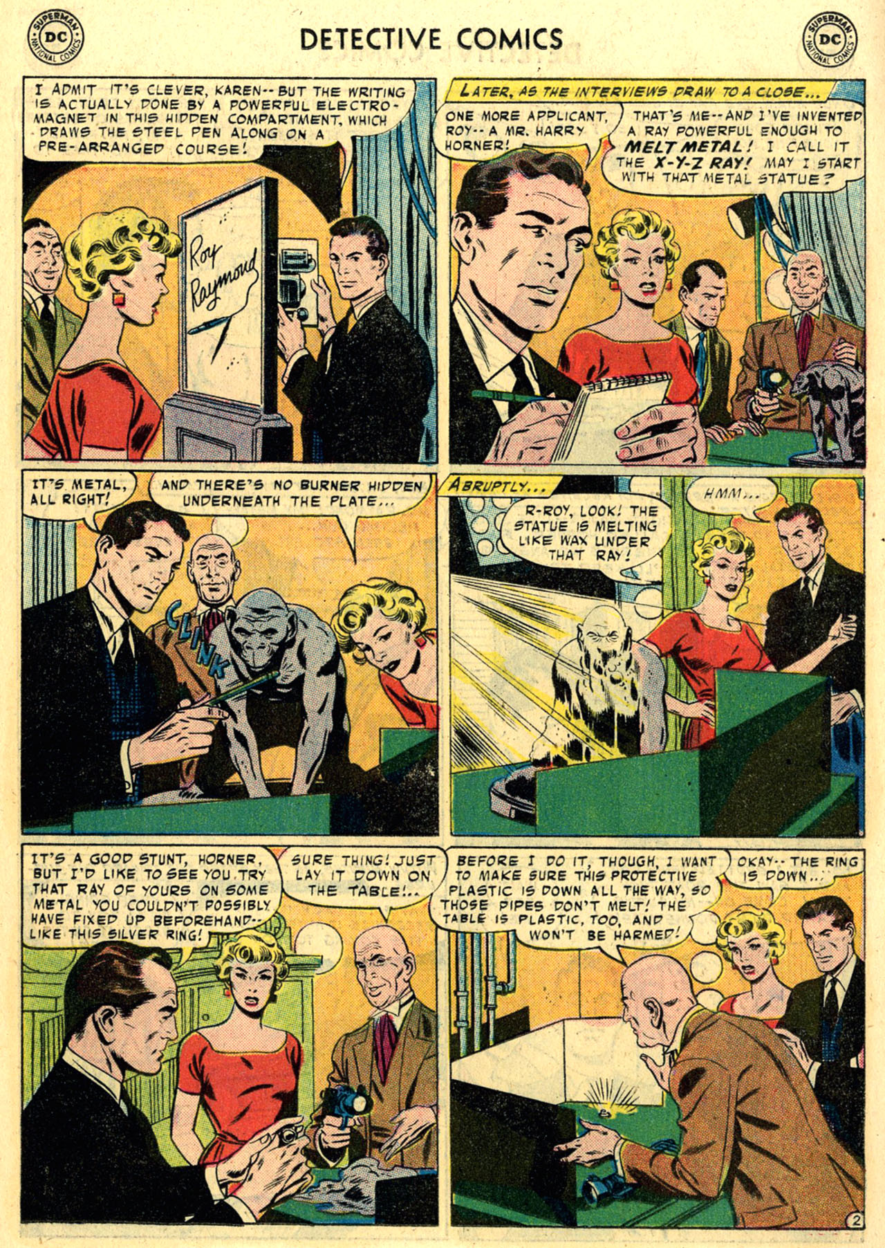 Read online Detective Comics (1937) comic -  Issue #245 - 19