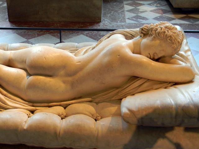 muzeum, Luwr, Paryż, rzeźba