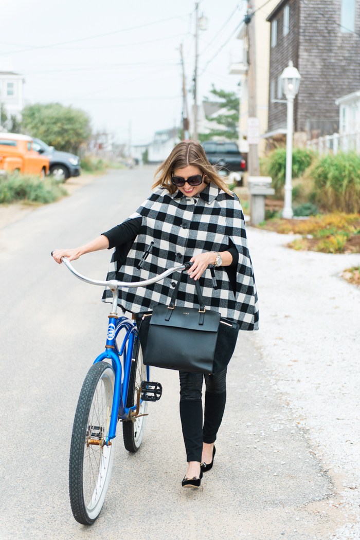 buffalo plaid cape talbots
