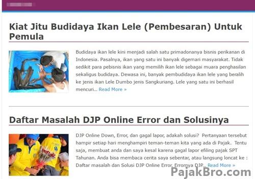 www.pajak.go.id Website Resmi Direktorat Jenderal Pajak
