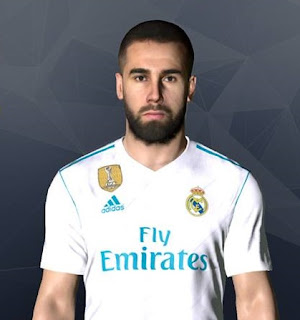 PES 2017 Faces Dani Carvajal by Facemaker Ahmed El Shenawy