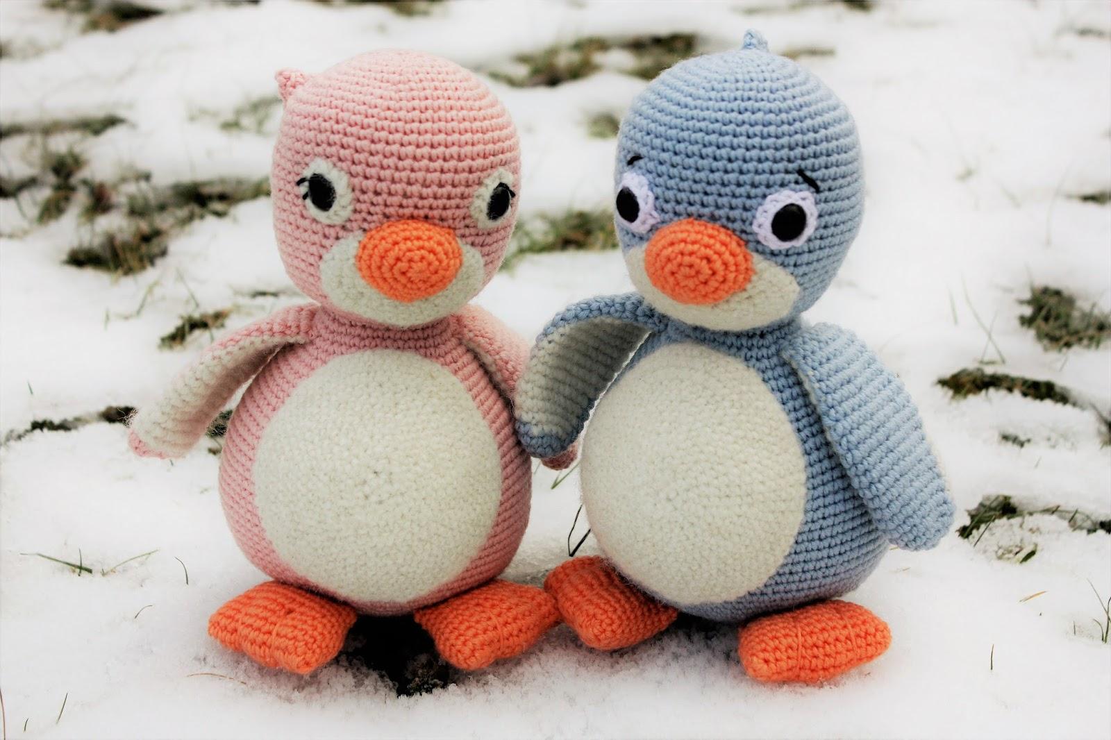Amigurumi Girl Tutorial : Happyamigurumi: Amigurumi Crochet Penguin Pattern: Cara ...