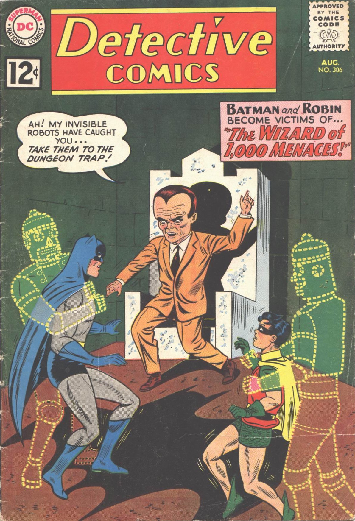 Detective Comics (1937) 306 Page 1
