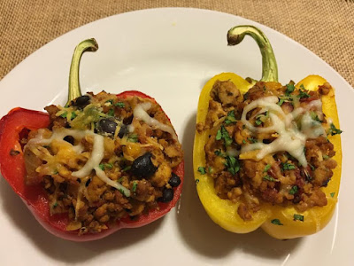 21 Day Fix Fixate Stuffed Peppers