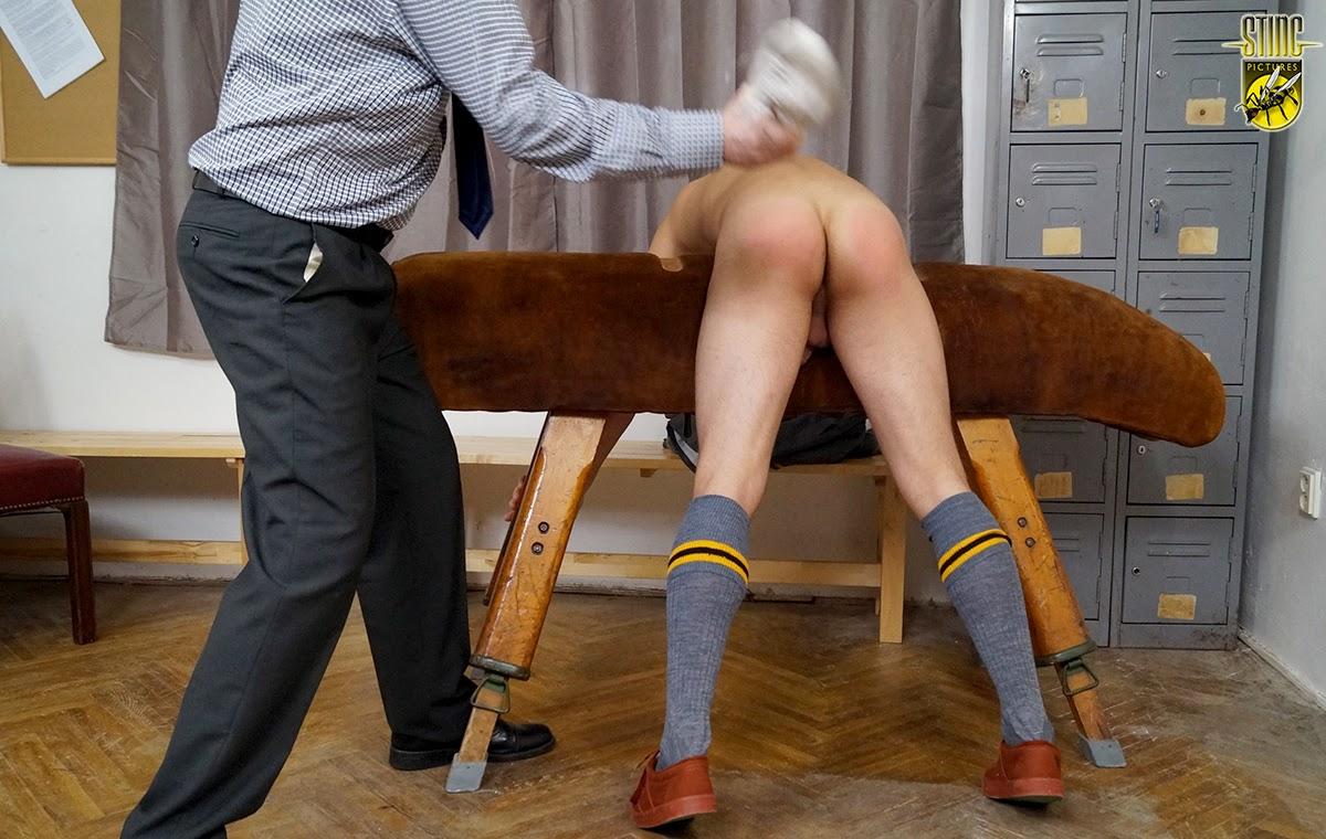 Pe teacher plimsoll spank