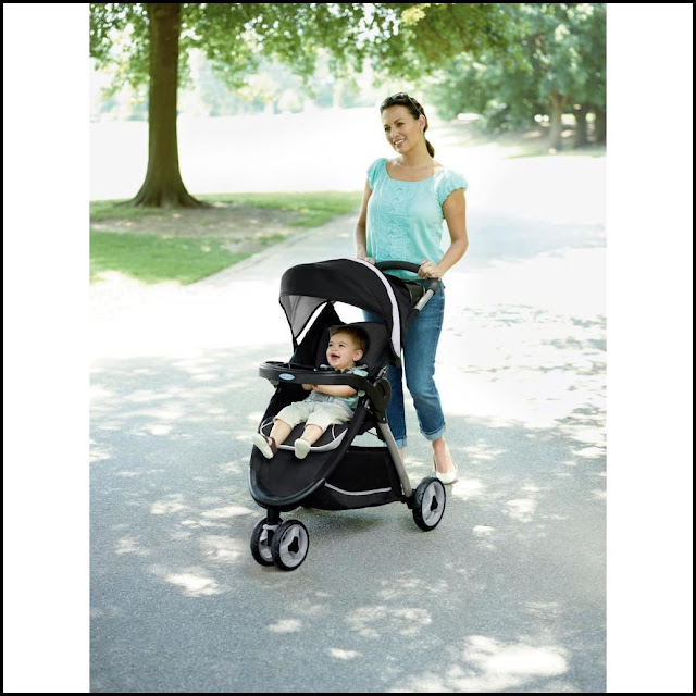 Graco Fastaction Fold Sports Click Connect Travel System