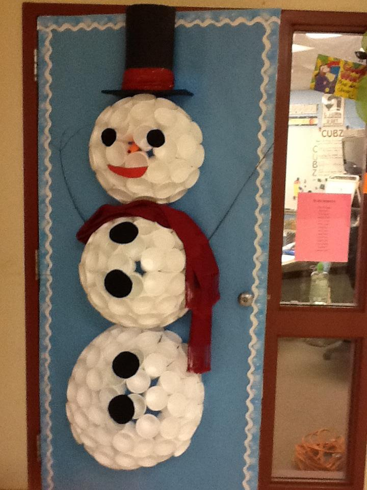 Creativity Is Contagious Pass It On Christmas Door