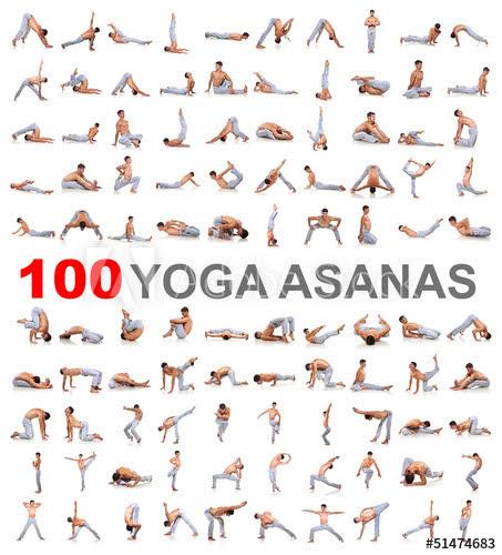 100 yoga Asana