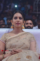 Actress Rakul Preet Singh Stills in Golden Embroidery saree at Rarandoi Veduka Chuddam Audio Launch .COM 0018.jpg