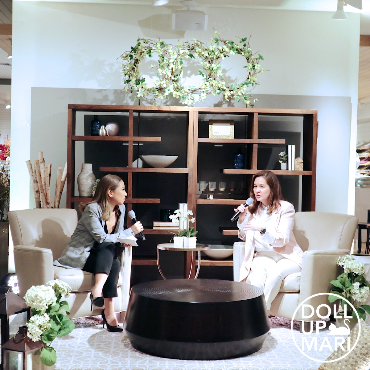Joanna Ongpin Duarte Speaks At Crate And Barrel With Host