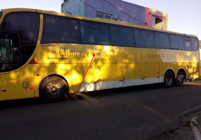 Ônibus da Itapemirim atropela motociclista na BR-343 no Norte do Piauí; vídeo