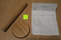Lieferumfang: Lumaland Cuisine Küchenrollenhalter aus Bambus mit Edelstahl Spitze, Ø ca. 14 cm x 32 cm