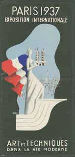 A poster for the 1937 Exposition Interntionale.