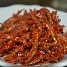 Resep masakan sambal goreng teri