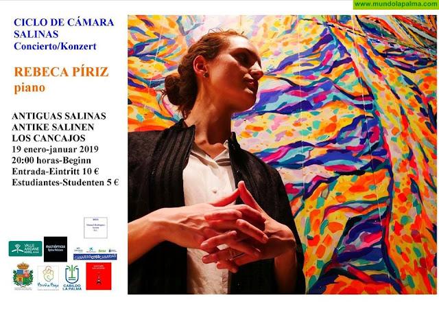 """Concierto de PIANO - Ciclo de Cámara """"Salinas"""""""