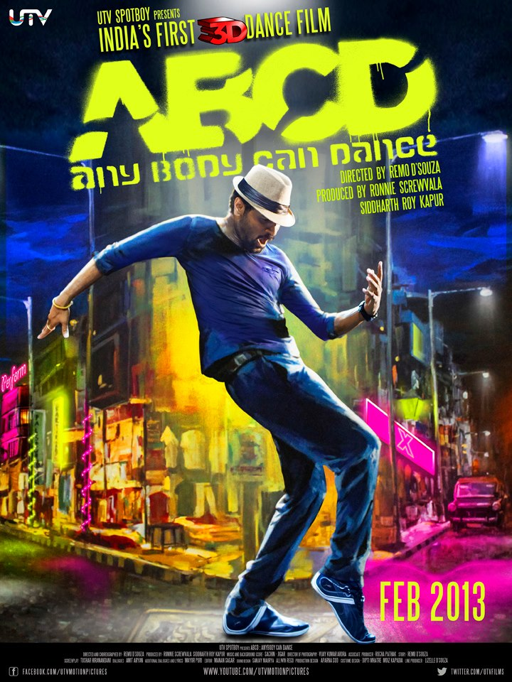 ABCD Anybody Can Dance (2013) Mp3 Songs Free Download