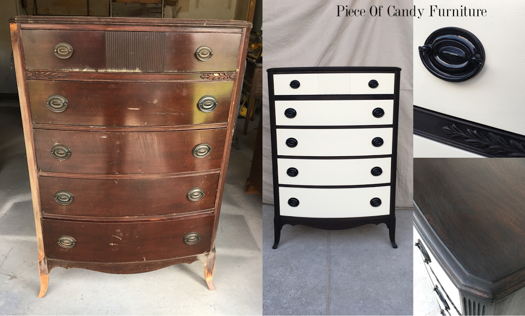 Piece Of Candy Furniture Duncan Tallboy Two Tone