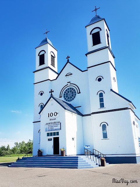L'église Sainte-Cécile de Petite-Rivière-de-l'Île