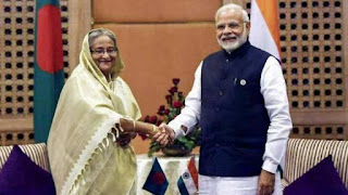 modi-and-hasina-inaugurated-four-projects