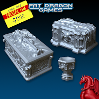 Free GM Resource: Fat Dragon Games Newsletter with Bonus 3D Printer Files