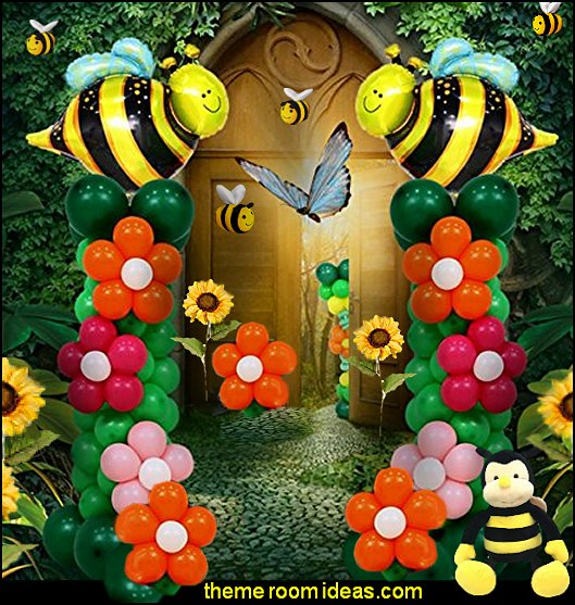 bee themed party decorations bee themed party - bumble bee decorations - Bumble Bee Party Supplies - bumble bee themed party - Pooh themed birthday party - spring themed party - bee themed party decorations - bee themed table decorations - winnie the pooh party decorations - Bumblebee Balloon -  bumble bee costumes