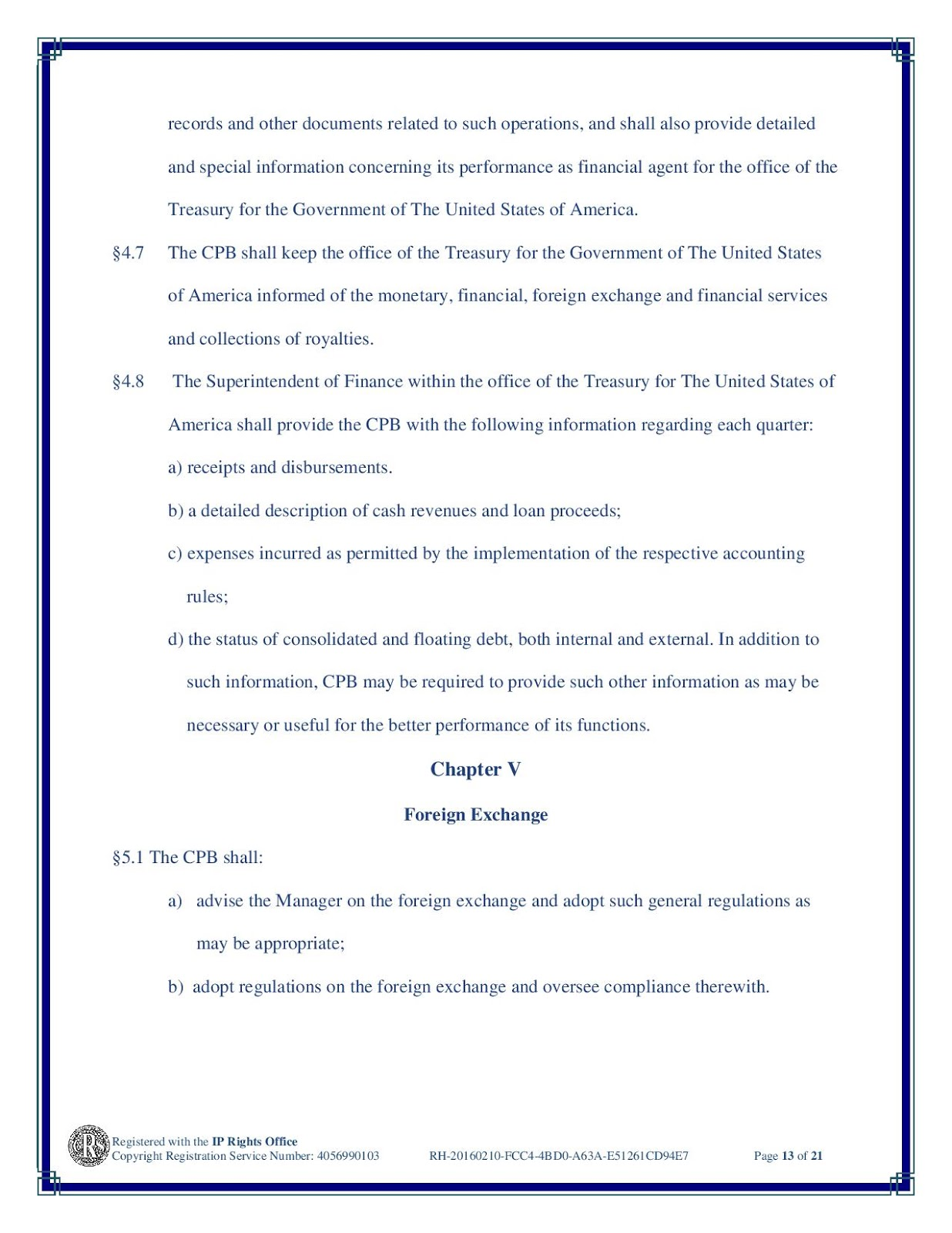 The United States, In Congress Assembled: PROCLAMATION OF DISSOLUTION OF THE BANK OF NORTH AMERICA. 20160210-GPOD3-CPB_CHARTER-page-013