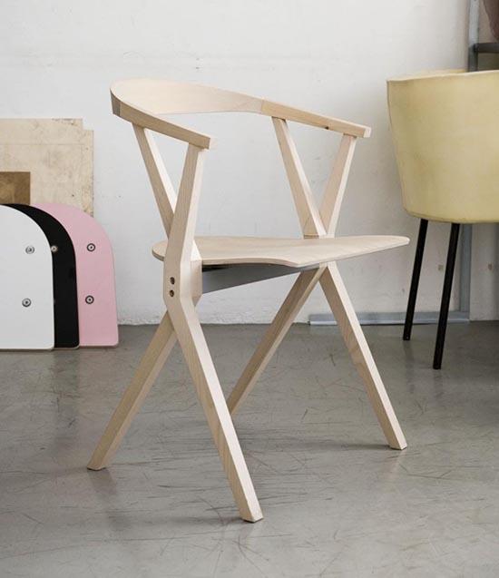 8 gambar desain inspiratif kursi lipat dari kayu