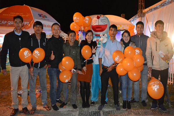 Quảng Bá Truyền Hình FPT Tại Lễ Hội Festival Hoa Đà Lạt 5