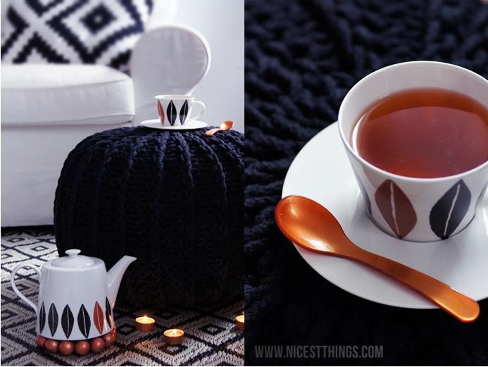 Porzellan bemalen Kupfer DIY Tassen Teeset