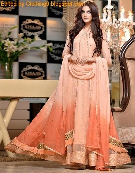 bb5cdc90eec5fa Pakistani Formal Clothes - Evening Wear Designs - Wedding Dress ...