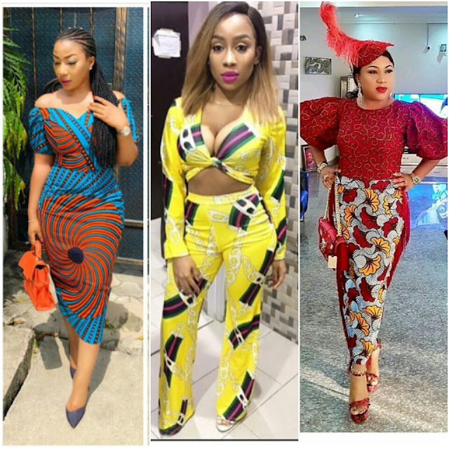 Ankara short gown styles and Ankara long gown designs to Skirt & blouse dresses has plenty of unlimited styles that are worth to design and display ostentatiously