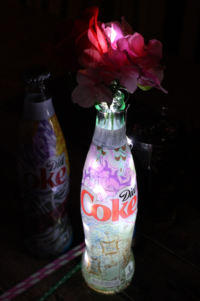 Soda Bottle Night Lights from Mama Loves Food! [Monthly Coffee at High-Heeled Love]