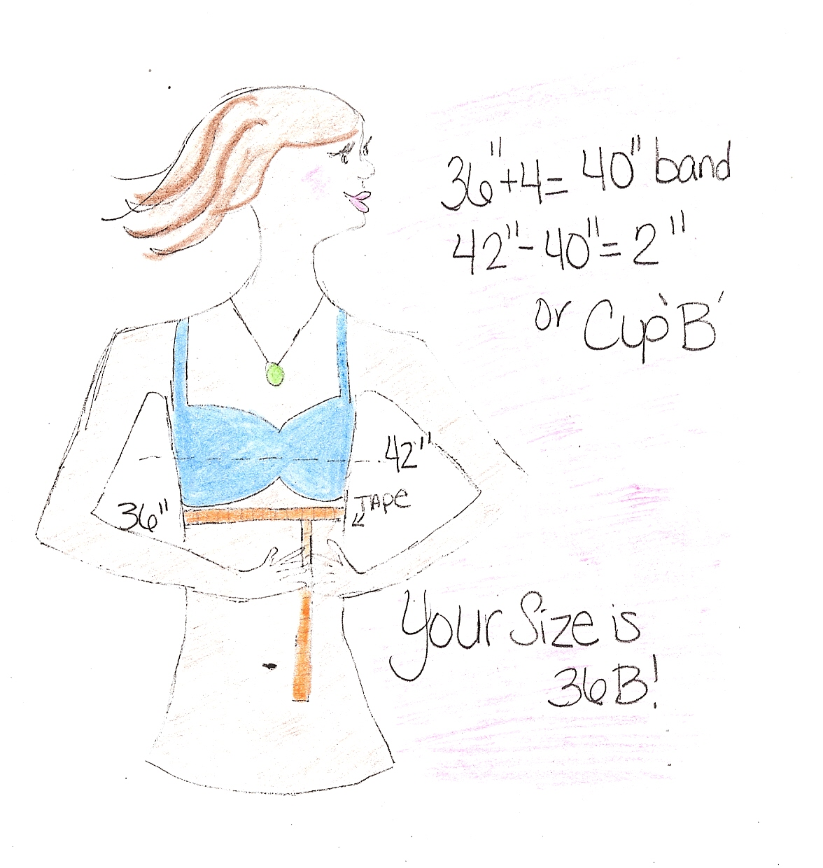 1ba35a49009a3 TOTM! Time Of The Month! ®  HOW TO FIGURE OUT YOUR BRA SIZE