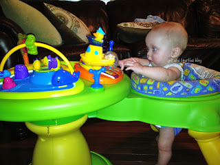 twins, exersaucer