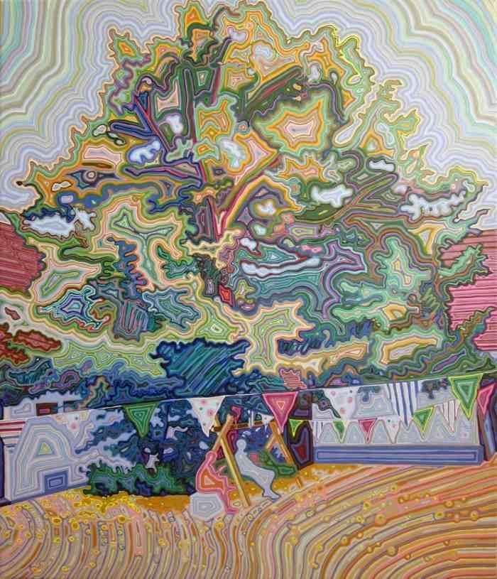 Южнокорейский художник. Jisun Lee
