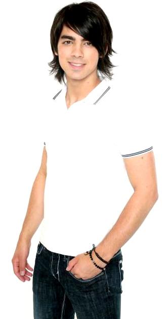 Foto de Joe Jonas sonriendo