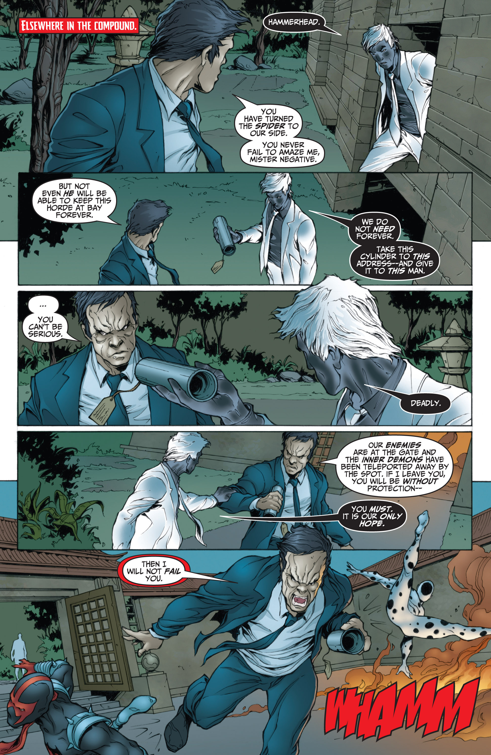 Read online Dark Reign: Mister Negative comic -  Issue #2 - 8