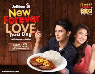 Jollibee New Forever Love Fans Day with James and Nadine
