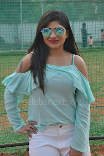 Madhulagna Das looks super cute in White Shorts and Transparent Top 35.JPG