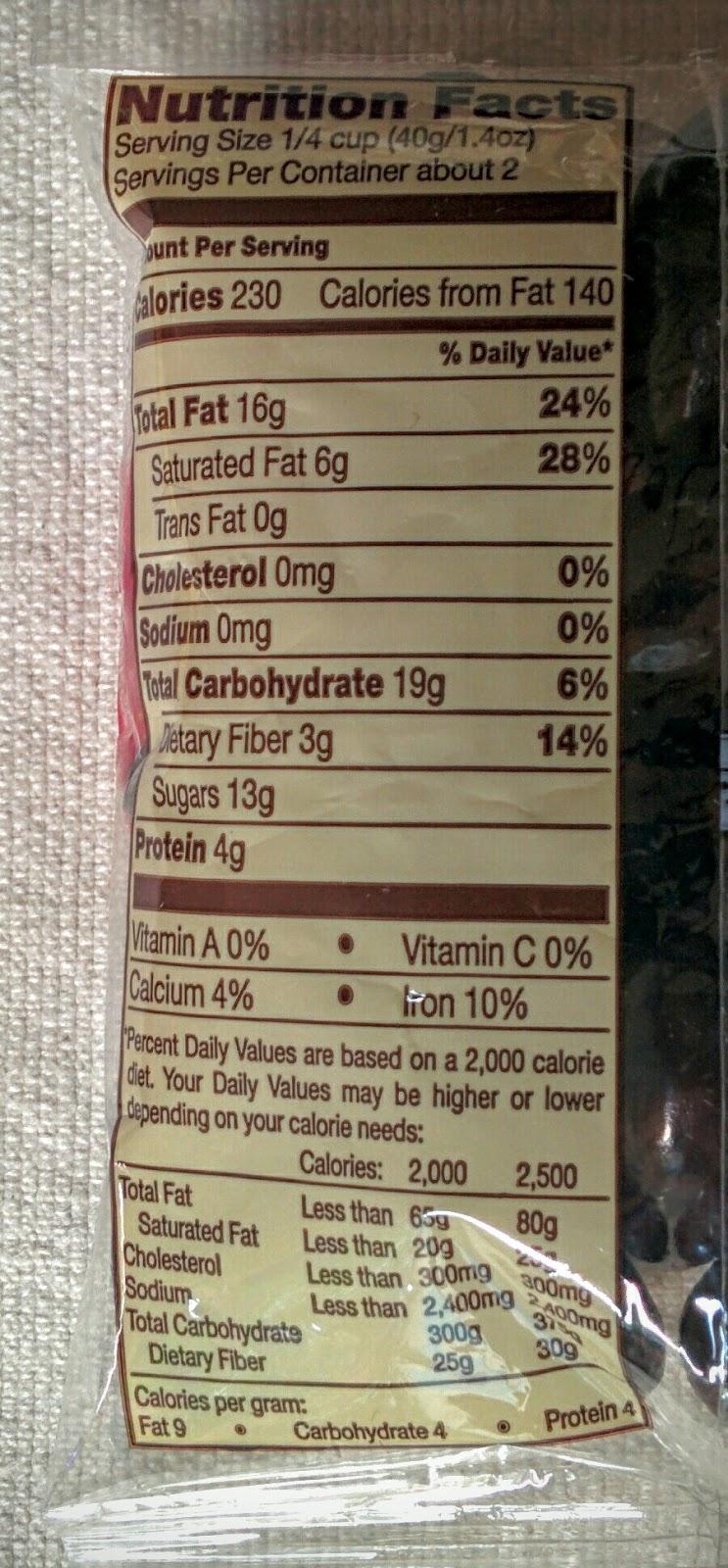 Trader Joes Dark Chocolate Almonds