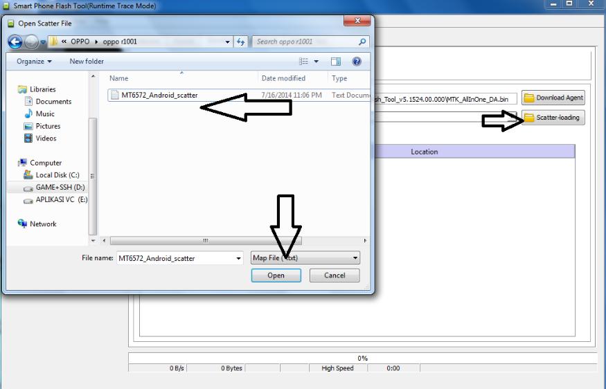Cara Flash Oppo A33W Neo 7 via SP Flash Tool | Terminal ...