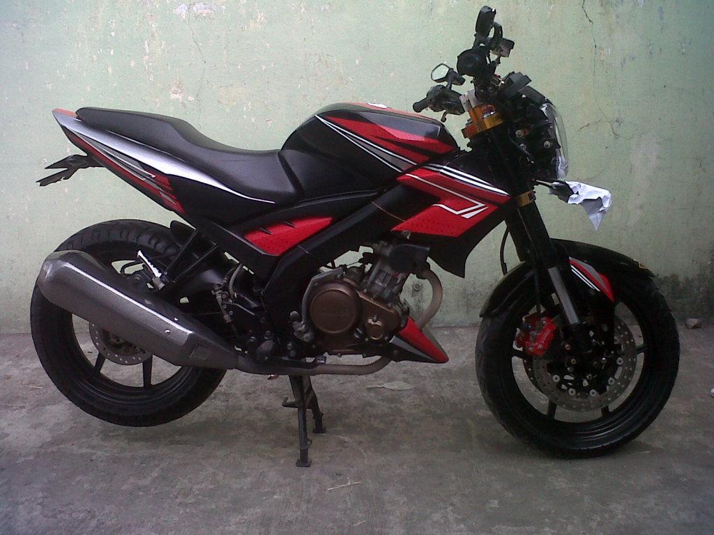 Best Modifikasi Motor Yamaha Vixion Street Fighter 2012