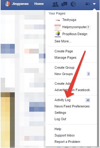 Delete facebook activity log enspirer facebook delete facebook activity log ccuart Image collections