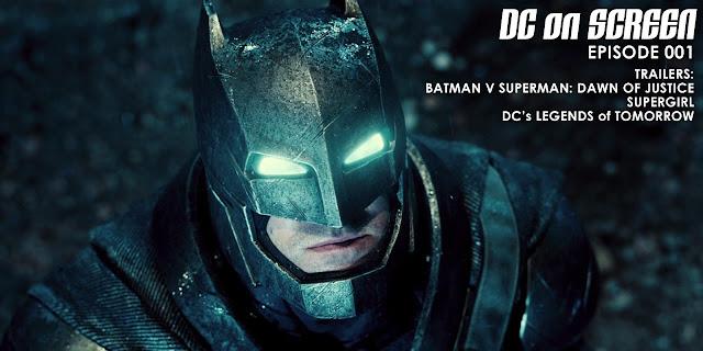 Batman v Superman: Dawn of Justice Teaser Trailer | DC on SCREEN Podcast
